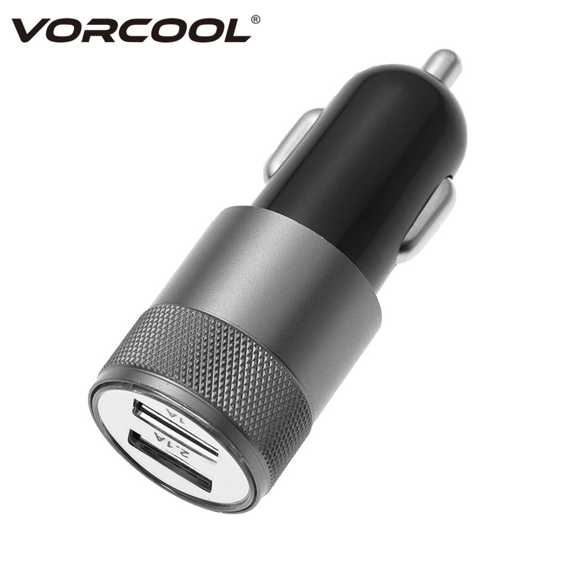 2019 2.1a Led Light Cargador Usb Dual 2 Ports Adapter Socket Car Battery Charger For Mobile Phone Carregador De Carro Red Car Chargers Mobile Phone Accessories