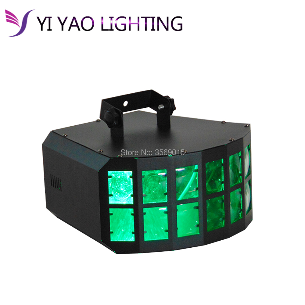 High Brightness 30W LED Double Layer LED Downlight Projection Butterfly Effect Light Ktv Disco Lights LED Double Butterfly Light