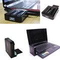 COOSKIN 220 V poder mini laptop air extraindo refrigerador LEVOU exibição refrigerado a ar-exaustão ventilador de refrigeração para notebook
