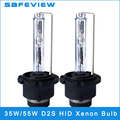 2Pieces 12V 35W 55W D2S 4300K 5000K 6000K 8000K HID Xenon Replacement Light Lamp Bulb Car Headlight Lighting