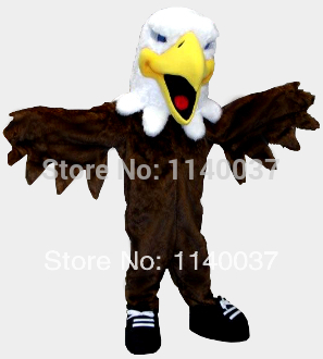 Costume de mascotte de faucon costume de mascotte d'aigle costume de mascotte de faucon
