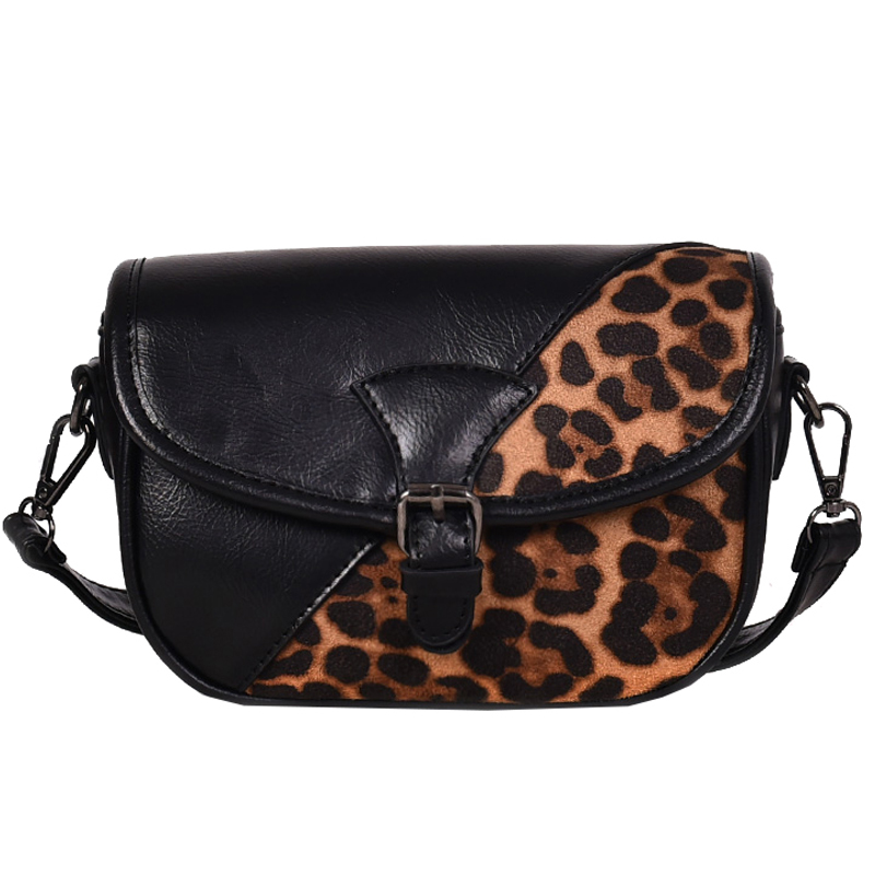 f254bb0474e ... about Famous Brand Personalized Handbags Leopard Print Splice Leather  Handbags and Crossbody Fashion Vintage Small Women Messenger Bag on  Aliexpress.com ...