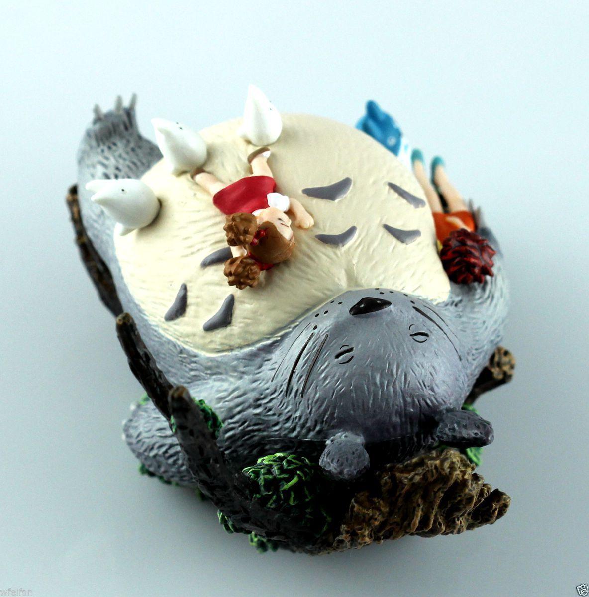 STUDIO GHIBLI Classic My New Neighbor Totoro Figures Scene Figurine Gift Toy Children free shipping