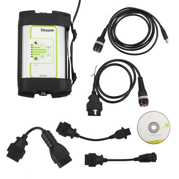 imágenes para Mejor Calidad WIFI 88890300 VoCom Interfaz 2.04.87 2.03.20 Software PTT Y PTT para Volvo/Renault/UD/Mack herramienta de Diagnóstico de camiones