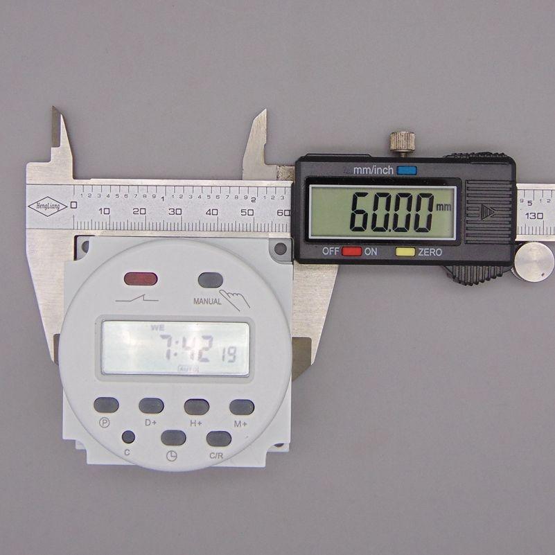 OKtimer CN101A AC 220 V 230 V 240 V Timer LCD digitale Timer - Strumenti di misura - Fotografia 5