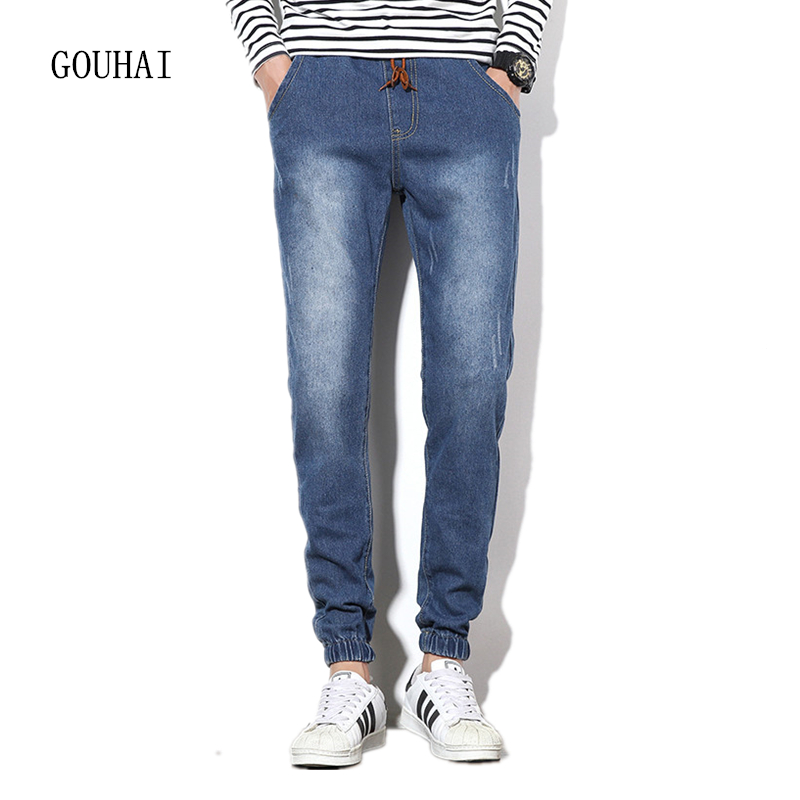 Men Jeans Casual Pants Mens Denim Trousers 2017 Spring New Male Slim Fit Jeans Plus Size M-4XL 5XL Autumn Long Cowboy Pant men jeans 2017 autumn winter mens denim jean blue cotton pants men denim trousers slim fit jeans male plus size high quality