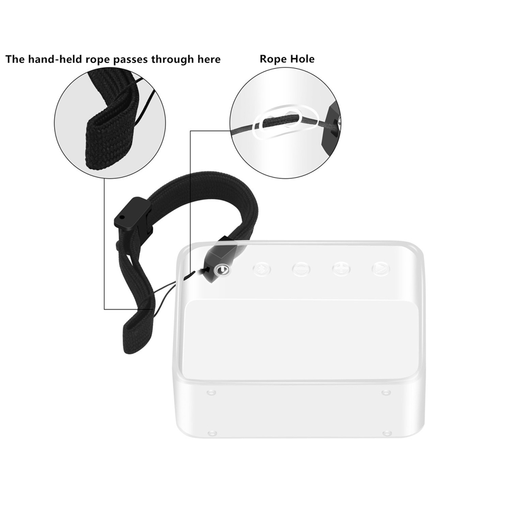 Tpu Protective Skin Case Cover For Jbl Go 2 Wireless Bluetooth Speaker Transparent Skin Case Sleeve Cover With Hand Strap In Speaker Accessories From Consumer Electronics On Aliexpress