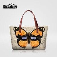 Dispalang Brand Women Handbags Butterfly Print Lady Casual Messenger Bag Business Women S Hnad Bag For