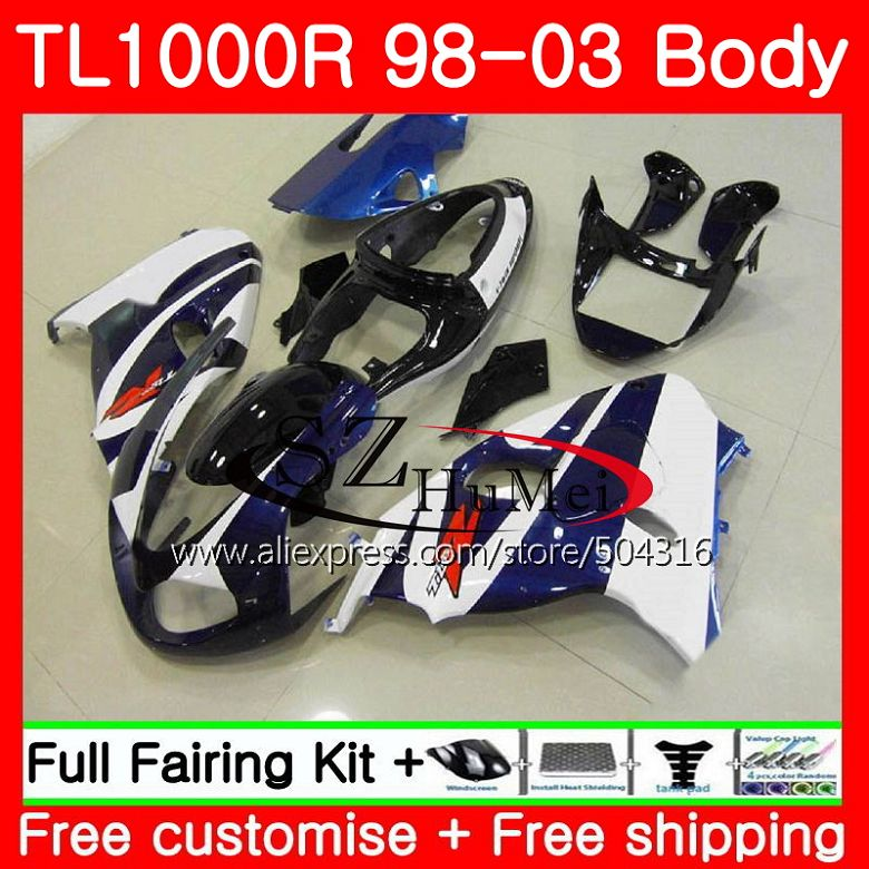 Body For Suzuki Tl1000 R Blue Corona Tl 1000 R Tl1000r 98 99 00 01 02 03 41sh18 Tl 1000r 1998 1999 2000 2001 2002 2003 Fairings Soft And Light Protective Gear