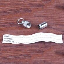 Identification Dog Tag / Alloy ID Collar Pendant