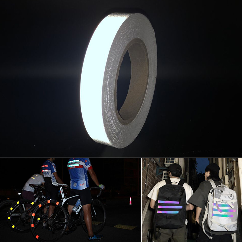 Reflective Easy To Tear Stickers Night Running Reflective Stickers Security Warning Stickers Night Running Equipment