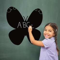 50x50 см мел доска стикеры Съемный ПВХ рисовать Декор росписи наклейки художественная доска для детей