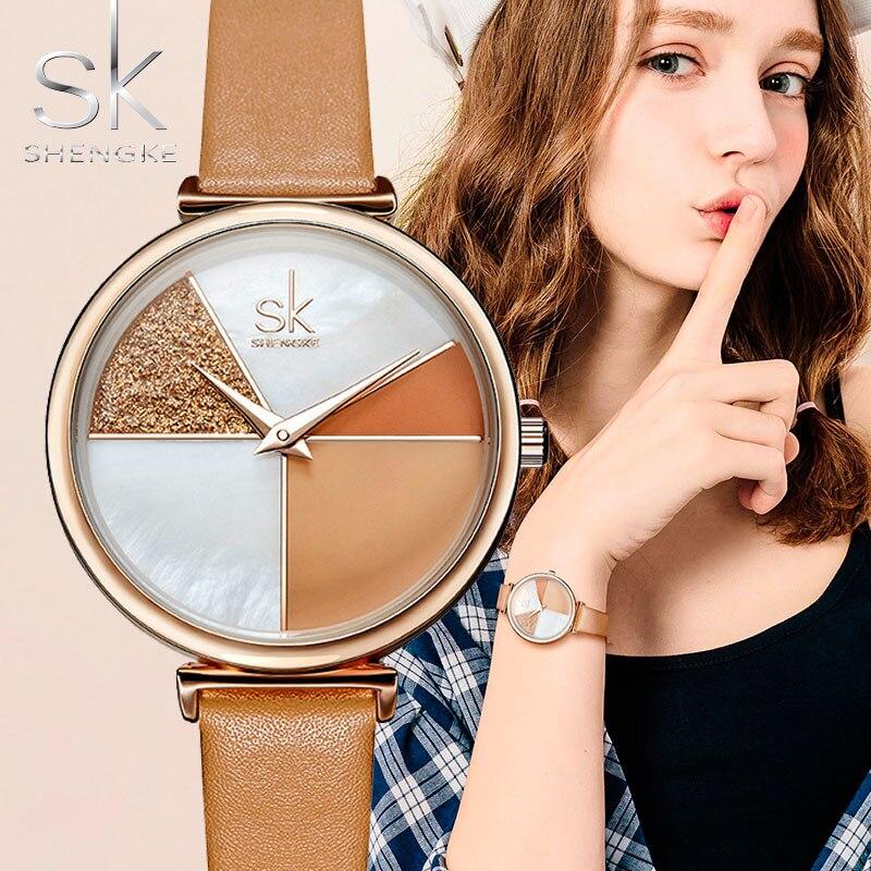 2019 Women Wrist Watch Luxury Brand Creative Woman Leather Quartz Ladies Clock Women Female Watches For Women Relogio Feminino