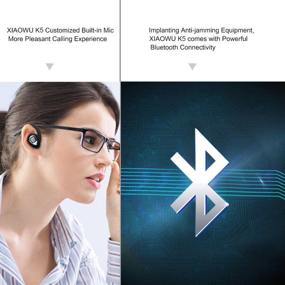 5a019b83e9a Original XIAOWU k5 K2 mini Headset wireless bluetooth earphone Binaural  earbud with Mic Charging Box for iphone 8 /android phone-in Bluetooth  Earphones ...