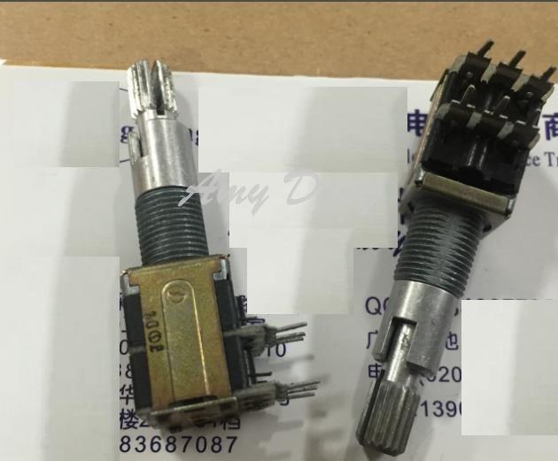 Free shipping Japan rotary encoder 18 biaxial long 30MM axis positioning