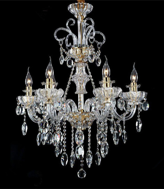Italy style restaurant crystal chandelier 6 lights modern candle led italy style restaurant crystal chandelier 6 lights modern candle led chandeliers coffee shop chandelier dining room aloadofball Choice Image