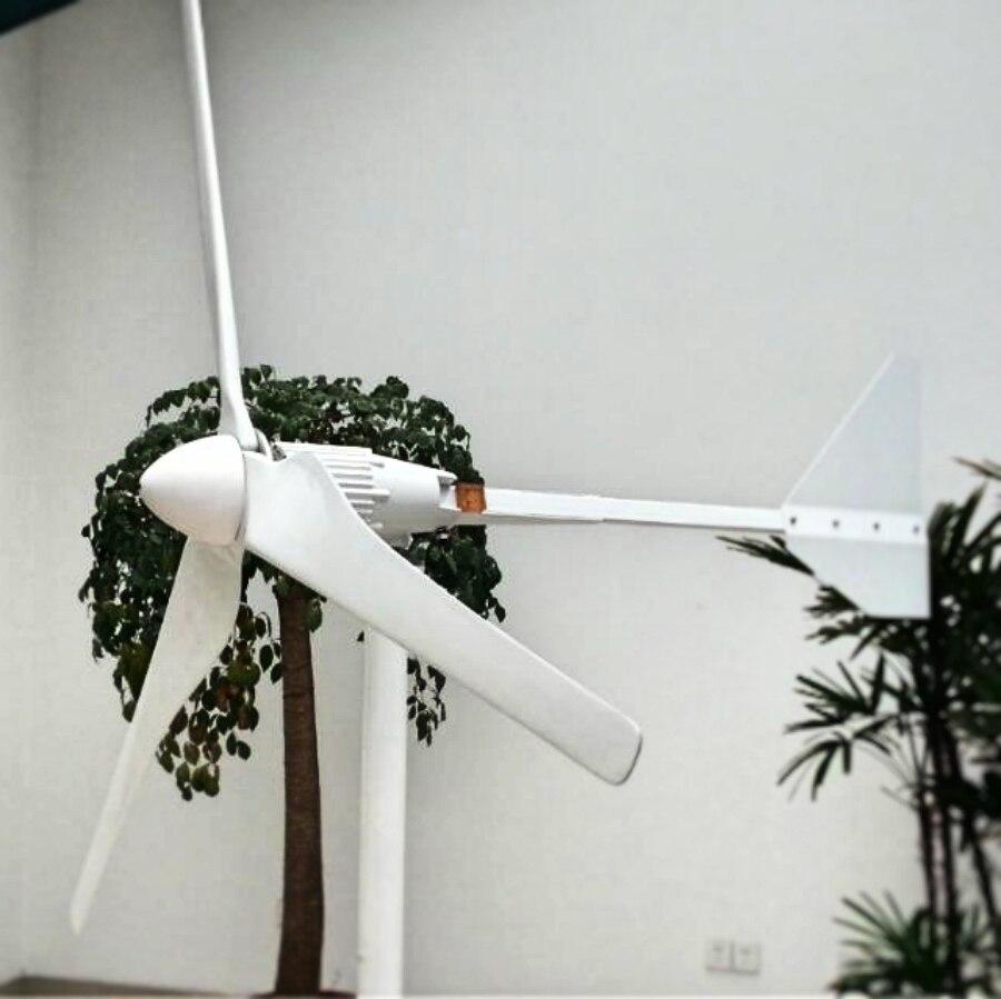 2000 Вт ветряной генератор 48 В 3 м/с низкая ветер Скорость начать 3 лезвия 1550 мм