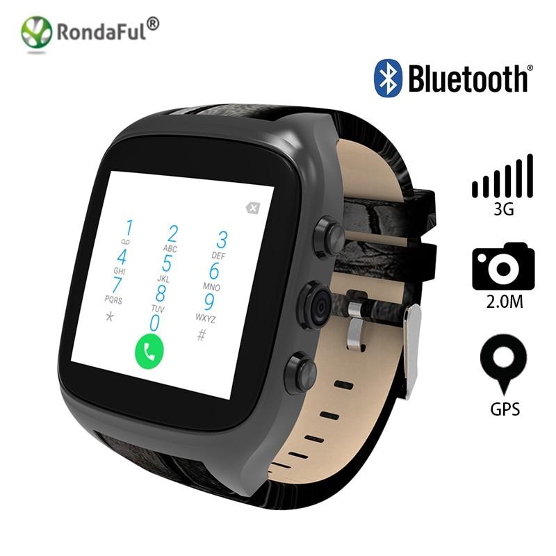 New X01S 2.0M HD Camera Quad Core Smartwatch 3G SIM Card Android 5.1 WIFI Bluetooth Internet GPS Waterproof Wearable Smart Watch gps навигатор lexand sa5 hd