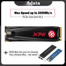 ADATA SSD 256GB M.2 XPG GAMMIX S11 Lite HD SSD m2 HDD hard drive 512G Solid State Drive disk for Laptop PCIe M.2 2280(China)