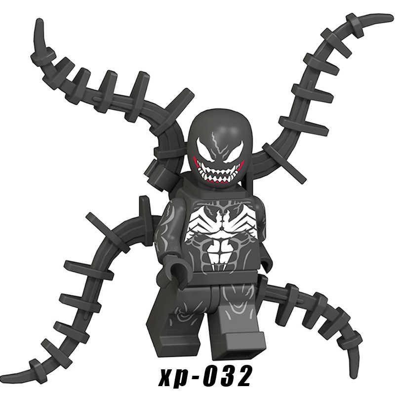 DC Unworthy Thor HYDRA Deadpool Venom Mr Freeze สีชมพูสระว่ายน้ำอาคารบล็อกวีรบุรุษของเล่นเด็ก KT1004