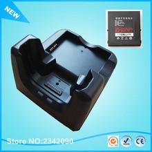 Urovo i6200S i6100S сборщик данных PDA зарядное устройство базовая подставка Док-станция 3800 мАч 4500 мАч перезаряжаемый аккумулятор зарядный кабель