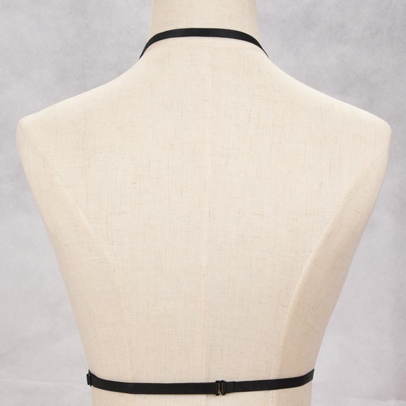 HTB1tJLjNVXXXXb.XFXXq6xXFXXXW Hot Ladies Gothic BDSM Bondage Fetish Wear Lingerie Body Harness Chest Accessory