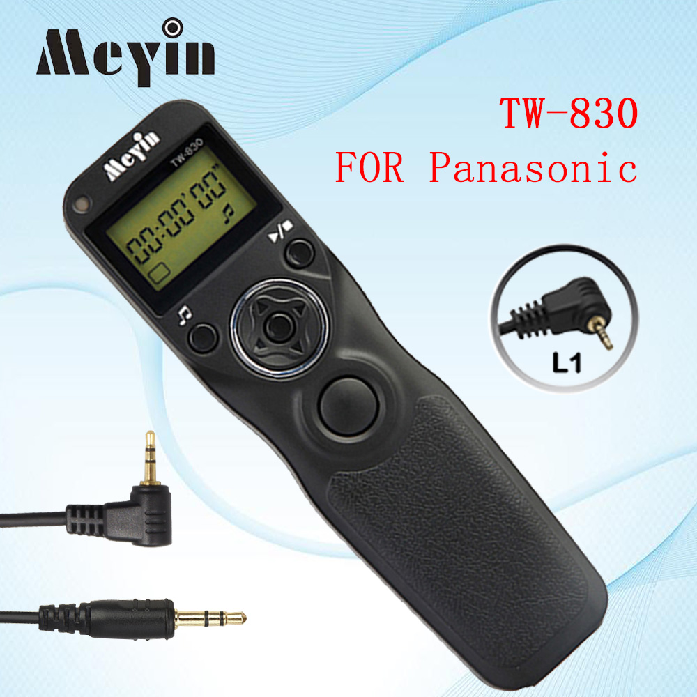 Meyin TW-830 L1 TW830 Timer Fernbedienung Auslöser für Panasonic Lumix GH3 GH2...