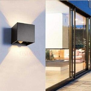 Image 5 - Luminária led de 6w 9w 12w, para áreas internas e externas, à prova d água, ip65, para parede, sensor de movimento radar, varanda arandela de decoração de casa iluminação