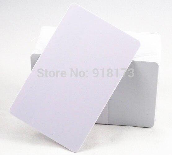 100pcs lot 125khz Inkjet Printable PVC ID card EM 4100 EM4100 chip Epson R200 R210 R220
