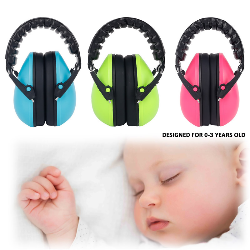 High Quality Children Anti-Noise Head Earmuff Hearing Protection Kid's Adjustable Ear Protector For Sleeping Study adjustable anti noise head earmuffs noise insulation ear protector nrr 30db for work study shooting woodwork hearing protection
