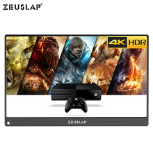 13.3 인치 4 k + hdr ntsc 72% ips 스크린 1800: 1 TYPE C hdmi 휴대용 모니터 (ps4 스위치 용) xbox one gaming monitor
