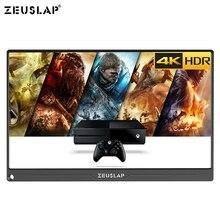 Портативный монитор 13,3 дюйма, 4K + HDR NTSC, 72% IPS экран 1800:1, HDMI, для PS4, коммутатора, Xbox One, игровой монитор
