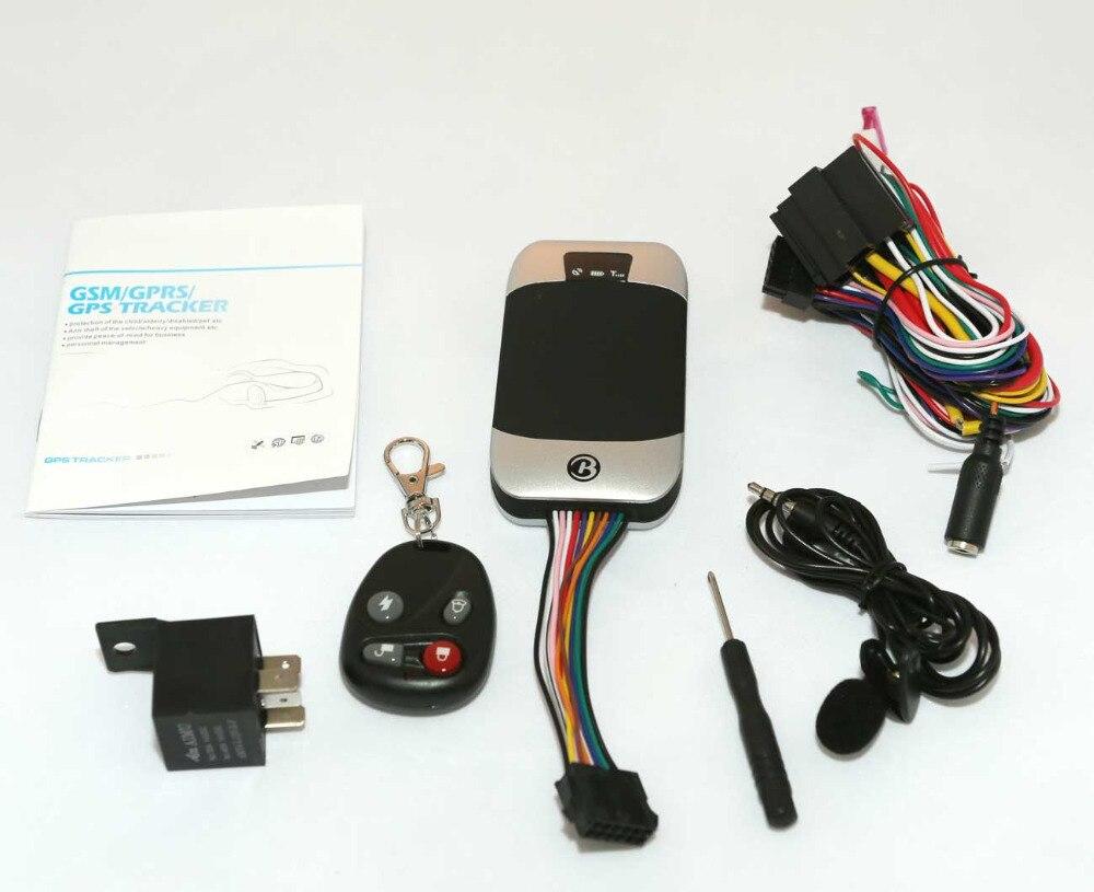 Coban Car Vehicle tracker GPS303G Quad band Real time GPS GSM GPRS Tracker Device Google maps