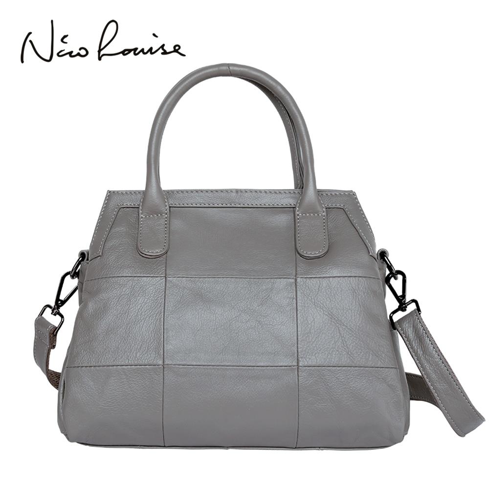 Luxury Handbags Women Bags Designer Genuine Leather Bag Ladies Shoulder Messenger Top handle bags Casual Tote