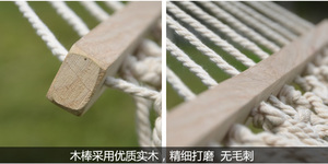 Image 5 - Portable High Quality Army Nylon Hammock Hanging Mesh Net Sleeping Bed Swing Outdoor Camping Travel