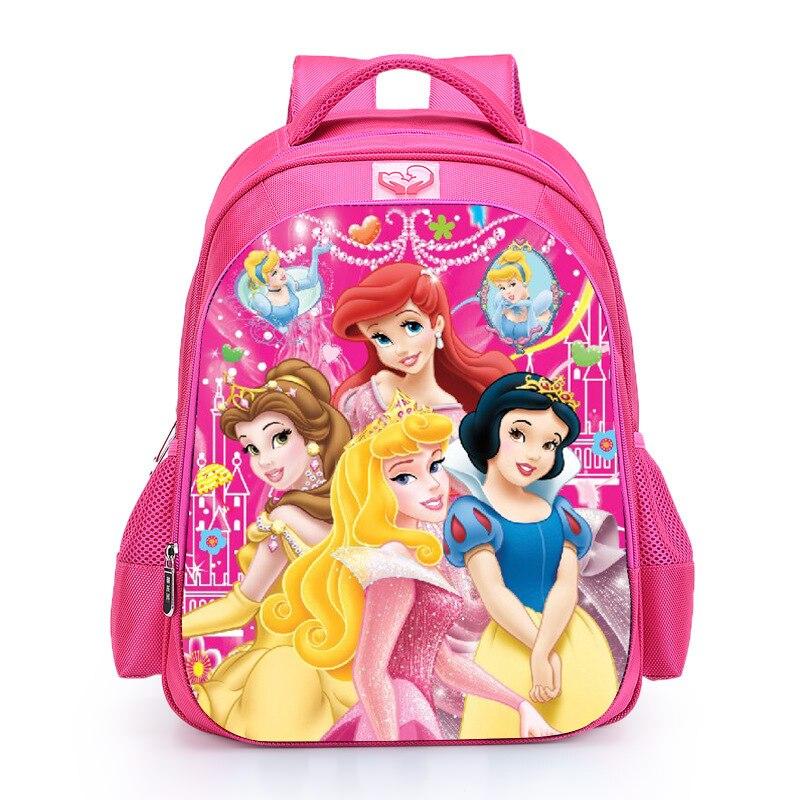 16 Inch Three Princess Marie Cat School Backpack For Girls Backpack Kids Children Cartoon Bookbag School Bags Mochila Escolar marie cat сумочка marie cat