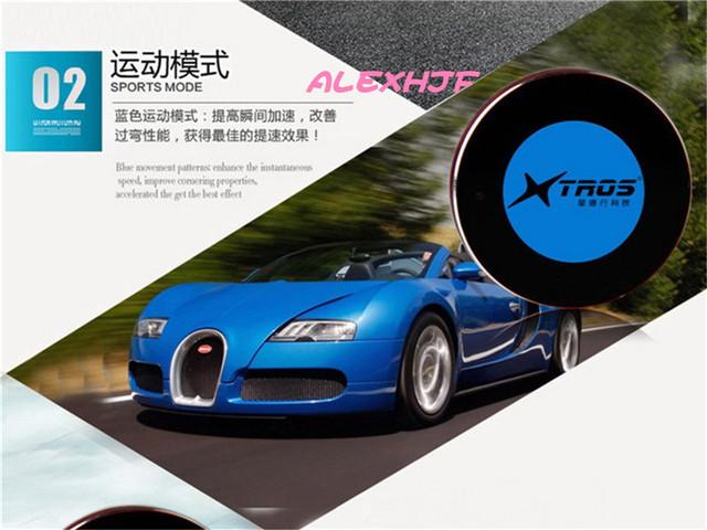 TROS Booster Potent 38*8mm táctil Controlador del acelerador, confortables Deportes de Carreras, CT-999 para BENZ Clase e Inteligente