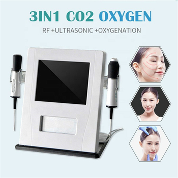Oxygen 3 in 1 Oxygen Face Lift Wrinkle Remover RF Facial Machine anti aging beauty equipment