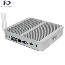 Новый 6-го Поколения Intel Core i5 6200U Безвентиляторный Intel Skylake Mini PC 16 ГБ RAM Intel HD Graphics 520 4 К HDMI VGA USB Настольного Компьютера