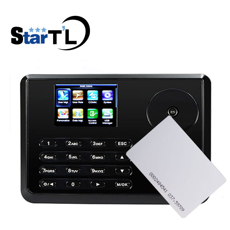 Palm Time Attendance Employee Biometric Attendance BioID Fingerprint Reader 125Khz Card Time Recorder ZK TX628-P