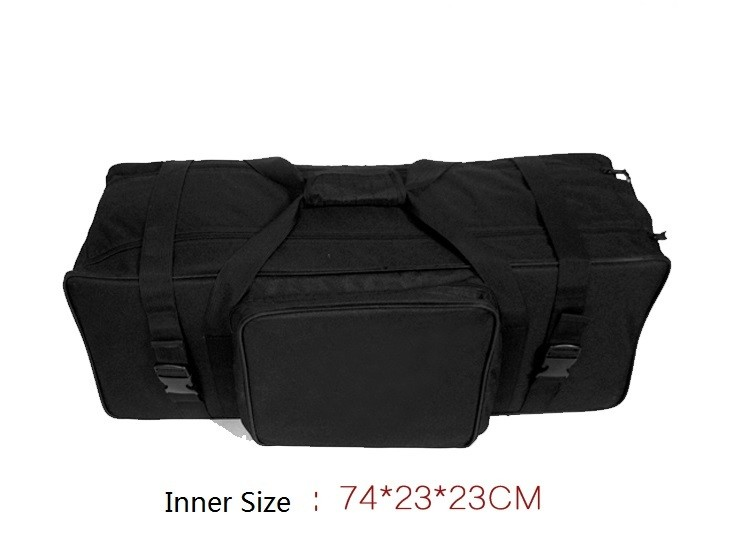 купить Free shipping 74x23x23cm photographic Studio light kit bag,Studio Lighting Equipment waterproof Oxford Bag for light stand недорого
