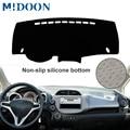 MIDOON для Honda Fit Jazz 2009-2013 Чехлы для стайлинга автомобилей Dashmat Dash коврик солнцезащитный чехол для приборной панели Capter 2010 2011 2012