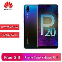 Original Huawei P20 full Netcom ultra thin smartphone NFC memory 6GB+128GB