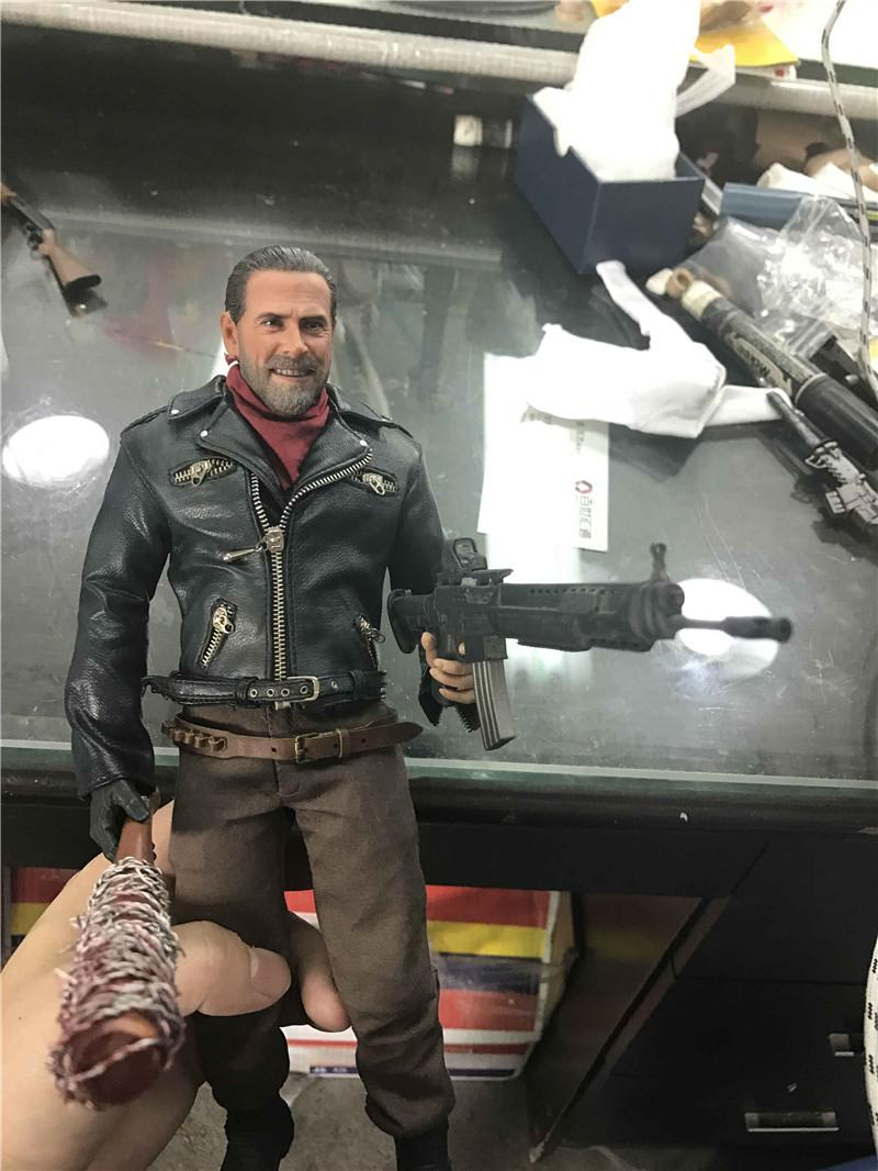 1/6 Scale The Walking Dead Negan Whole Box Figures Toys Gifts Brinquedos 1 6 scale the walking dead negan full set action figures body
