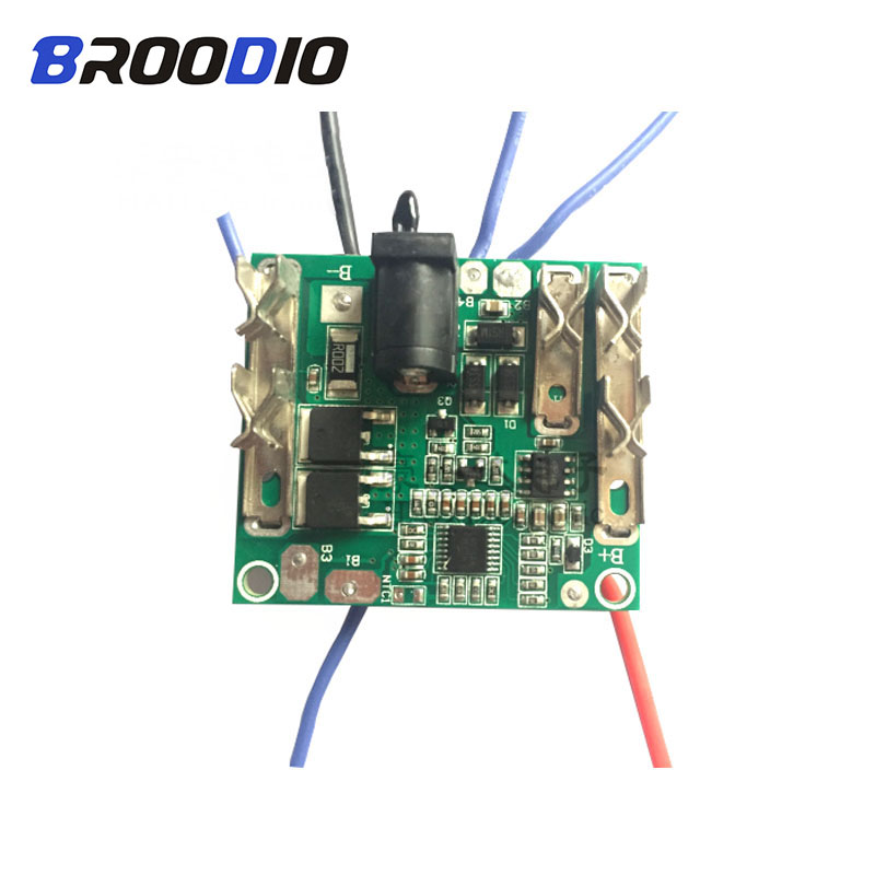 BMS 5S 18V 21V Lithium Pack Li-Ion Battery Charging Protection Board Protection Circuit BMS Module For Power Tools Hand Drill