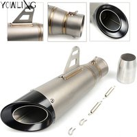 Motorcycle Scooter exhaust Modified Exhaust Muffler pipe For HONDA NC750 NC 750 S/X NC750S NC750X NC 750S/X2012 2015 2016