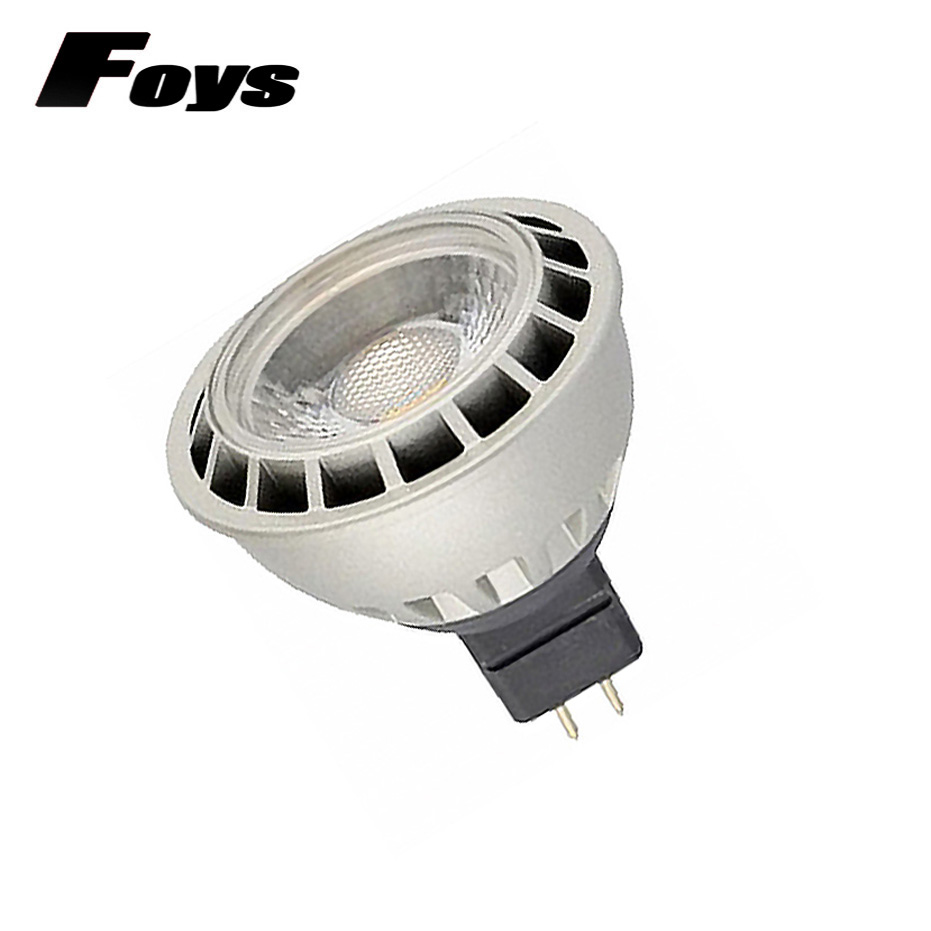 New High Power Lampada led MR16 GU5.3 COB Lampada Led DC 12V 5w 7w Led Spotlight Warm Cold White Die - casting aluminum led Lamp