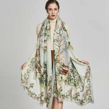 DANA XU Winter luxury Brand Plaid Cashmere Scarf Women Oversized Blanket Wrap Long Wool Scarf Women Pashmina Shawls and Scarves