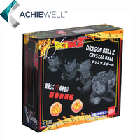 Dragon Ball Z New With Retail Box One Set 7 Stars Crystal 3 5CM Balls 7