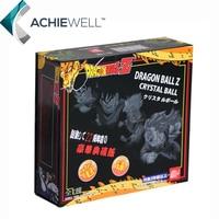 Venda De Dragon Ball Z Com Caixa de Varejo de 7 Estrelas De Cristal 4.3 CM Bolas de 7 peças/set Janpan Anime Coleção Dom Brinquedos Dos Desenhos Animados animação